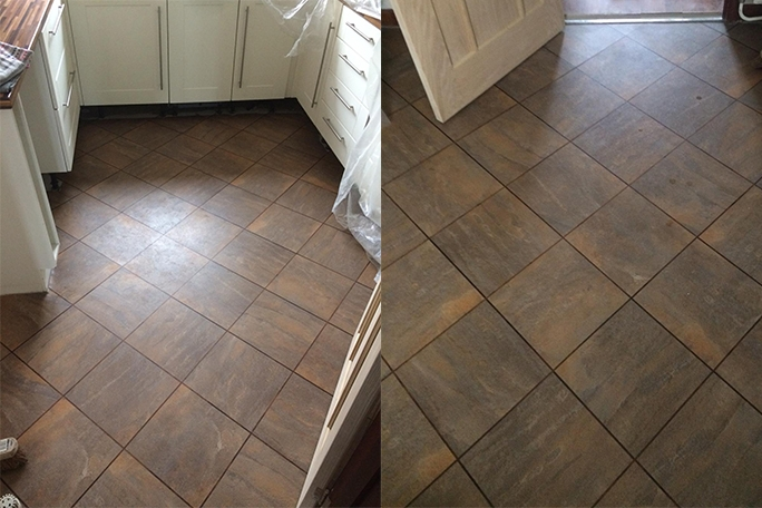 Karndean Knight Tile in Jura Slate
