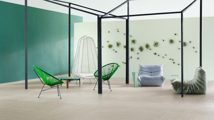 Marmoleum by Forbo is great eco friendly floor choice