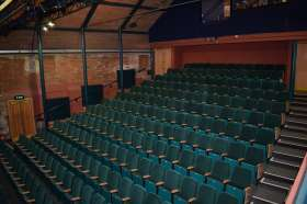 Norwich Playhouse Refurbishment - the new carpet and seating
