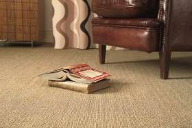 Our Sisal flooring from Alternative Flooring.